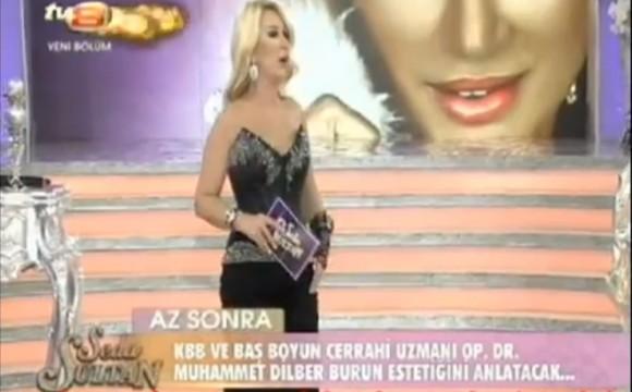Estetik Burun Ameliyatı – Seda Sultan TV8